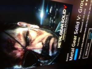 Metal Gear Solid V: Ground Zeroes £3.99 ON PlayStation Store