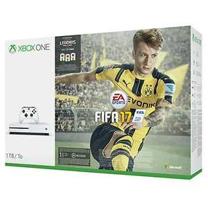 Xbox One S, 1TB with FIFA 17 and extra Controller - £279.95 @ John Lewis