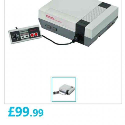 In Stock Now Nintendo Mini NES Console £99.99 @ Maplin