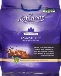 Kohinoor Platinum Basmati Rice (5Kg) was £10.98 now £6.00 @ Asda