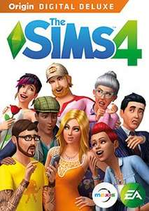 The SIMS 4 Digital Deluxe Edition from Origin EA Stores. (Black Friday deal) - £19.99