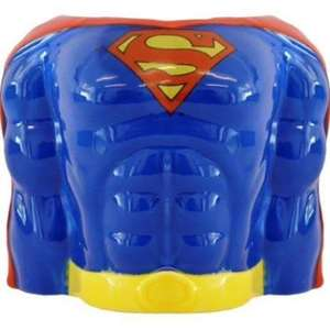 large Superman torso mug £2.40 (was £8) @ sainsburys