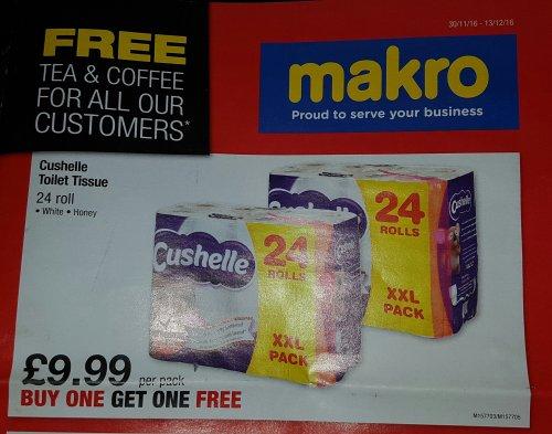 Cushelle Toilet Tissue 48 rolls £11.99 Makro