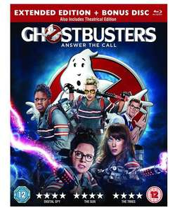 Ghostbusters [Blu-ray] [2016] - Lightning Deal £9.99 prime / £11.98 non prime @ Amazon.co.uk