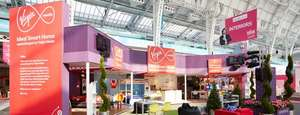 Virgin Media Broadband price-matching deals at Ideal Home Show