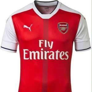 Arsenal Football Jerseys 16/17 Season £38.50 @ Puma