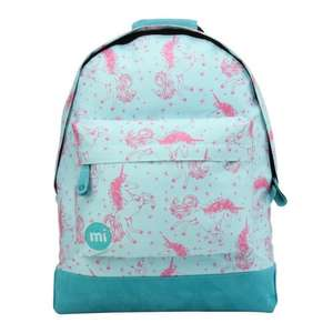 MI-PAC UNICORNS BACKPACK - AQUA/PINK - £19.95 @ Skate Hut