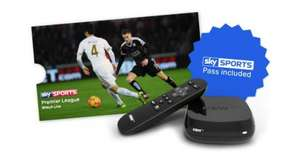Free Sports Day Pass with Now TV £19 Box and 6 month Entertainment Packs Argos