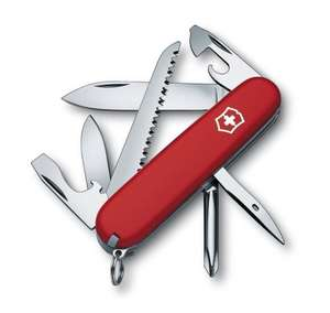 Victorinox Hiker Swiss Army Knife £9.99. Back in stock on Dec 4, 2016