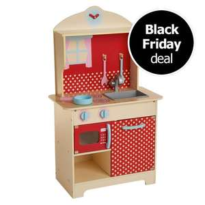 Wooden Kitchen Play Toy £30 @ Wilko