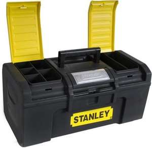 "Stanley One Touch Tool Box 19"" just £8 at Homebase (Free R+C)"