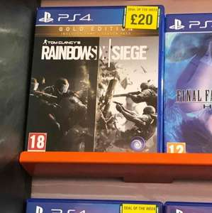 [PS4] Tom Clancy's Rainbow Six Siege Gold Edition £20 (Grainger Games)
