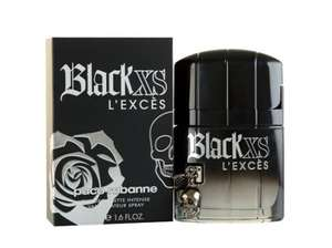 Men's Paco Rabanne Black XS 50ml spray rrp  £43/ £28.99 use code BLACK30 = £20.29 @ Rowlands Pharmacy