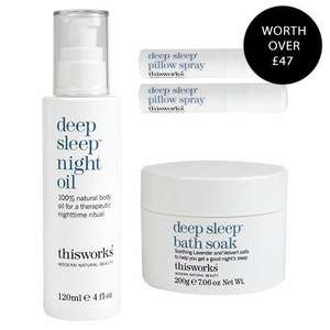 This Works Bedtime Bliss Collection £15.75 @ Beauty Bay