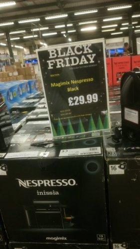 Nespresso Magimix Inissia £29.99 / Magimix U Milk £39.99 @ Clearance Bargains (Walsall)