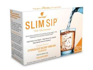 Slim Sip Orange & Blackcurrant weight loss powder - £7.45 for 30 sachets at Wilko