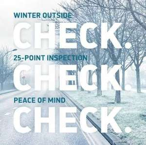 Vauxhall Winter Safety Check for only £25 including 12 months Roadside Assistance