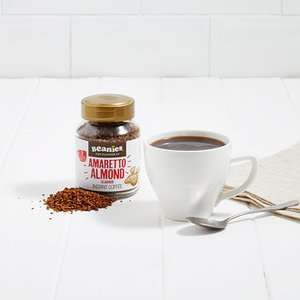 Beanies Coffee Price Per Jar - £1.62 / £3.11 delivered plus extra 10% Off orders over £35 - exantediet.com & topcashback