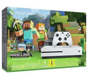 Xbox One S 500GB Console Minecraft Favourites Bundle and get either Forza Horizons 3, Gears of War 4 or an Xbox One controller free £199.99 @ Argos