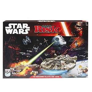Risk: Star Wars Edition Game LOWEST ever price £13.99 prime / £18.74 non prime (normally £34.99) @ Amazon