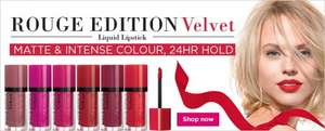 BOOTS BOURJOIS 3 FOR 2 PLUS FREE GIFT WORTH £25