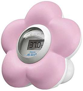 Philips AVENT SCH550/21 Bath and Room Thermometer - Amazon £8.99 + £3.99 delivery for non prime