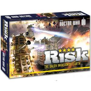 Doctor Who Risk only £4.99 (instore) or plus £5.50 delivery @ Forbidden Planet