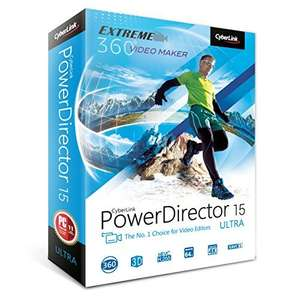Cyberlink Power Director 15 Ultra (possible £37.75 from £219.97)
