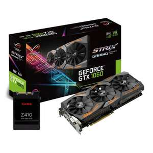 Asus 1060 6GB Strix and 120GB ssd £285 @ Scan