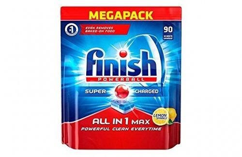 Finish All-In-1 Max Lemon Dishwasher Tablets (Pack Of 90) £9.49 Prime / £14.24 Non Prime @ amazon