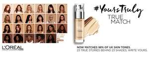 SUPERDRUG L'OREAL MAKEUP 3 FOR 2 PLUS FREE MASCARA WORTH £10