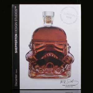 Stormtrooper drinks decanter 750ml £18.08 delivered @ eBay/Findmeagift