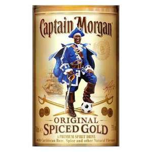 Captain Wes Morgans Spiced Gold Limited Edition 70cl Leicester FC £14.99 drinksupermarket
