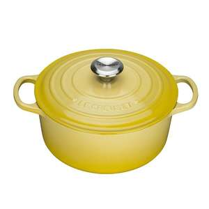 Le Creuset Signature Cast Iron Round Casserole, 22 cm - Soleil £95 - Amazon (Temporarily out of stock)