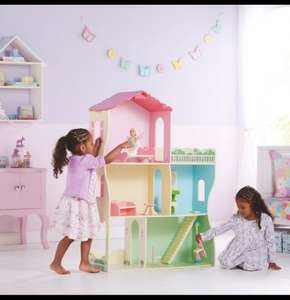 Big Wooden dolls house at amazing price £24 @ Asda instore