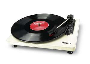 ION Compact LP USB Turntable Cream £25 (Usually sells for £60) @ Wilko, Free delivery to store.