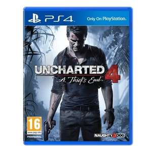 uncharted 4 ps4 £16.99 / £26.98 delivered @ Powerhouse - (We are only able to ship to Jersey, Channel Islands)