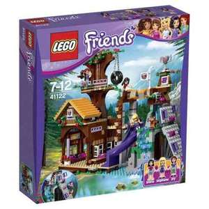 LEGO Friends Tree House half price £28.49 at Tesco - Free c&c
