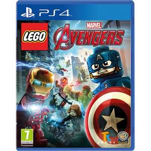 LEGO Marvel Avengers PS4 now £12.99 at John Lewis