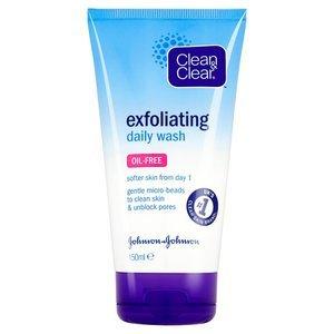 Deal Stack - Clean & Clear Exfoliating wash 4 tubes for £2 delivered at Superdrug
