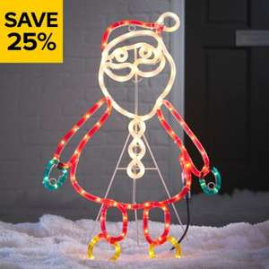 25% off Christmas lights indoor and outdoor @ B&Q