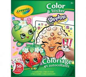 giant crayola shopkins bundle half price - £4.99 @ Argos (Free C&C)