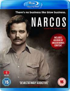 Narcos - Season 1 Blu-ray for £9.99 @ Zavvi (also free delivery)
