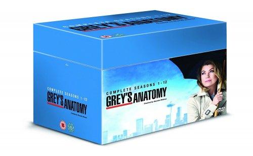 Grey's Anatomy - Season 1-12 [DVD] £55.99 @ Amazon