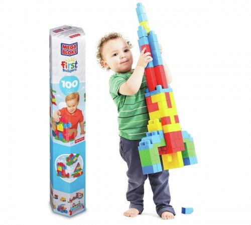 Mega Bloks First Builders Tube - 100 Pieces - £9.49 @ Argos