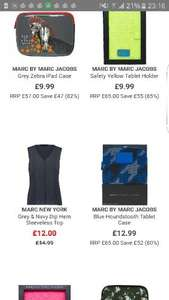 Marc Jacobs tablet cases/holders from £9.99 TK MAXX online RRP £65