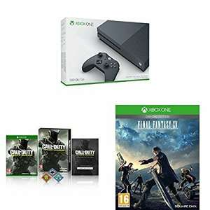 Xbox One S (500GB) Storm Grey + Call of Duty: Infinite Warfare + Final Fantasy XV £249.99 @amazon... Cyber Monday deal