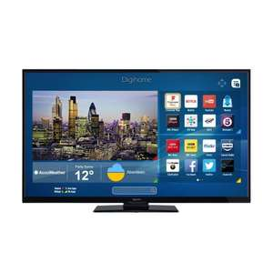 "Digihome 55292UHDSFVPT2 55"" 4K Ultra HD Smart LED TV WiFi Freeview Play USB Port £329.99 @ Co-op eBay"