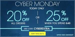 The Book People 20% off all orders or 25% off orders over £40 CYBER MONDAY DEAL use code CYBEREXTRA at checkout @ The Book People