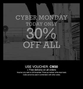 converse 30% off today only + free delivery on all orders